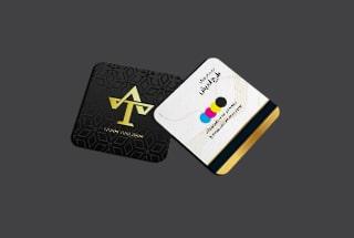 چاپ کارت ویزیت مربعی