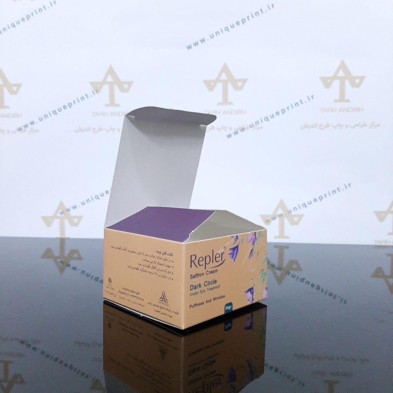 نمونه چاپ جعبه و بسته بندی