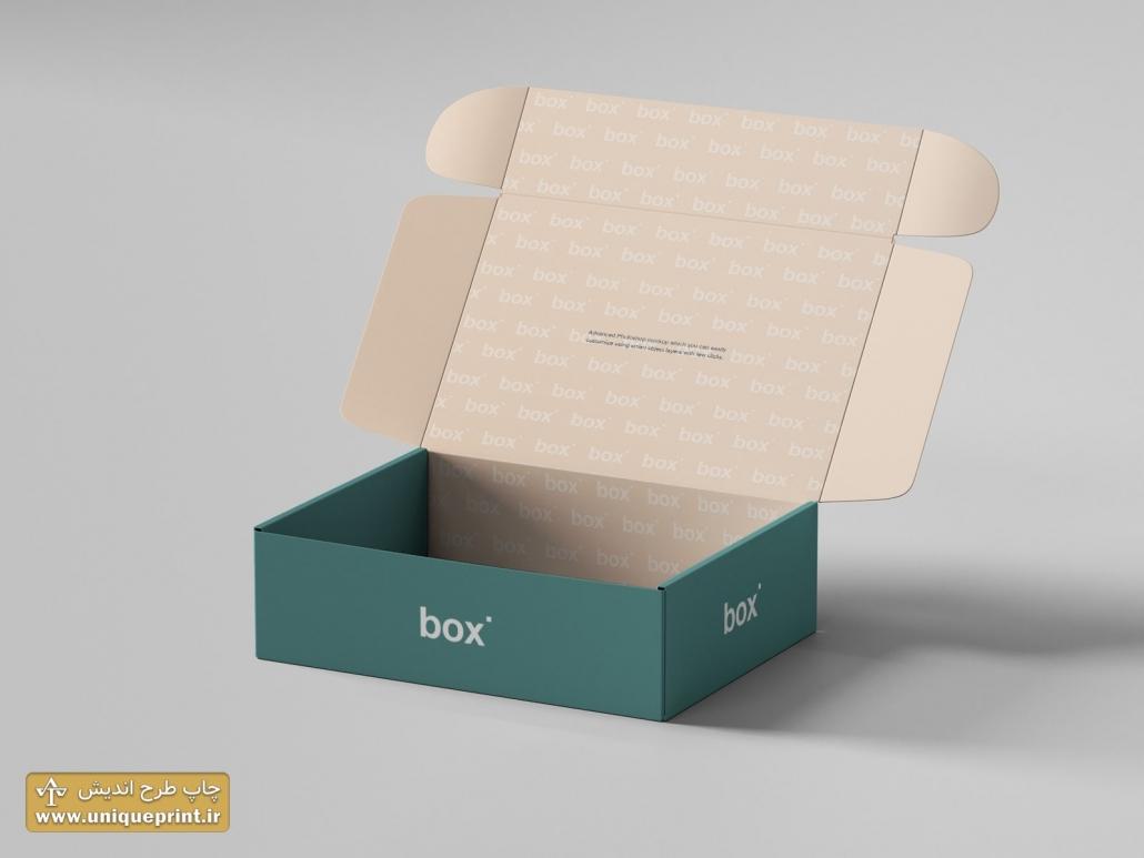 چاپ جعبه های راه راه