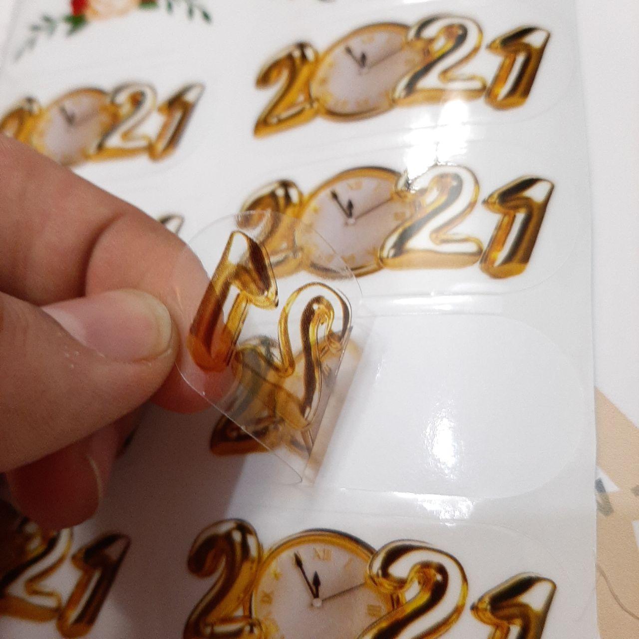 نمونه چاپ لیبل